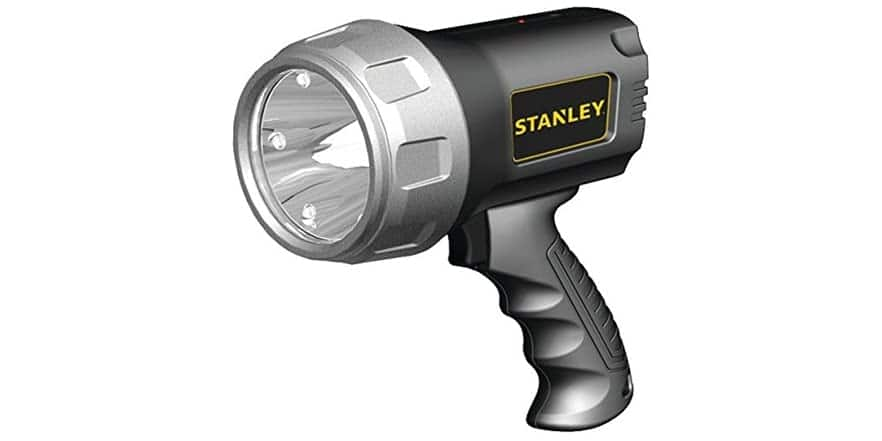 STANLEY SL3HS Rechargeable 900 Lumen Lithium Ion Ultra Bright LED Spotlight Flashlight $15.98 Woot.com Free Shipping If Prime Member
