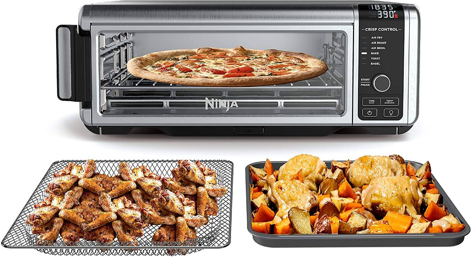 Ninja SP100 6-1 Digital Air Fry Oven with Convection Refurbished Woot.com $119.99 Shipped if Prime Member