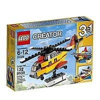 Amazon Deal: LEGO Creator 3 In 1 Cargo Heliplane / Ship / Plane $8.59 Shipped Prime   132 Pieces  LOWEST PRICE EVER