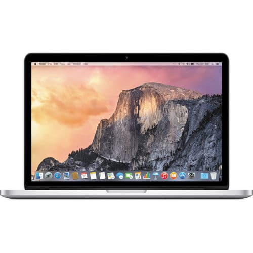 "Apple - MacBook® Pro - 15.4"" Display - Intel Core i7 - 16GB Memory - 256GB Flash Storage - Silver  MJLQ2LL/A $1599"