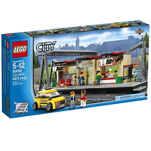 LEGO City Trains Train Station 60050 Building Toy Amazon Prime $40.98