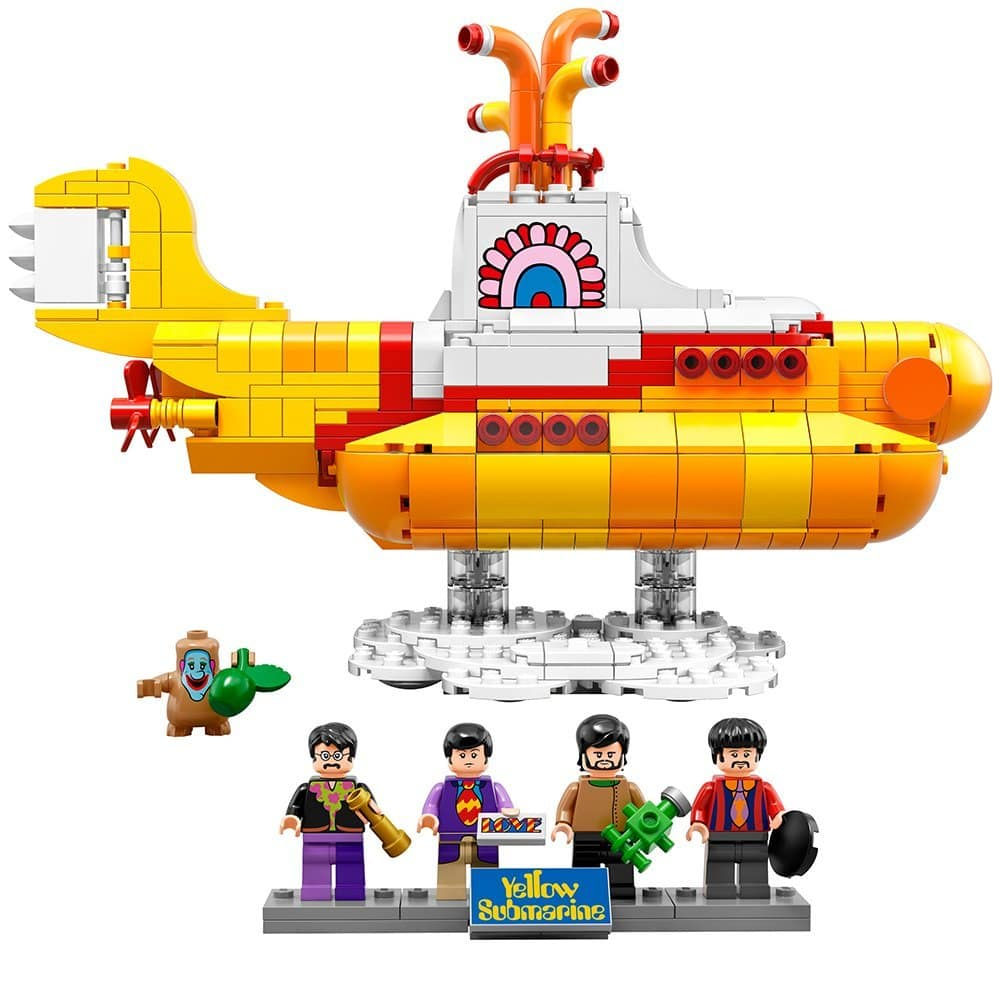LEGO Ideas 21306 Yellow Submarine Building Kit Amazon Prime $45.49 Shipped Or Walmart