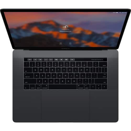 """Apple 15.4"""" MacBook Pro with Touch Bar (Late 2016, Space Gray) B&H Photo $1799.99"""