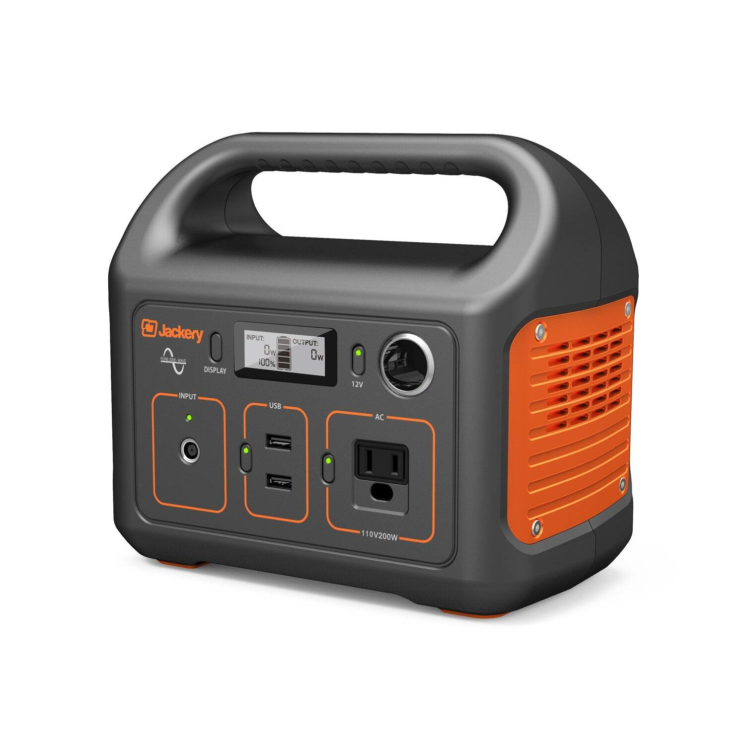Jackery Portable Power Station Explorer 240, 240Wh Backup Lithium Battery, 110V/200W AC Outlet 25% Off and Donation Aprox: $187.50