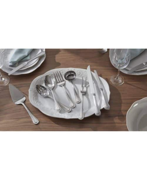 Macys Free Shipping 84% off  Lenox 104-PC Middleton or Barlowe Flatware Set Service For 12 $99.99