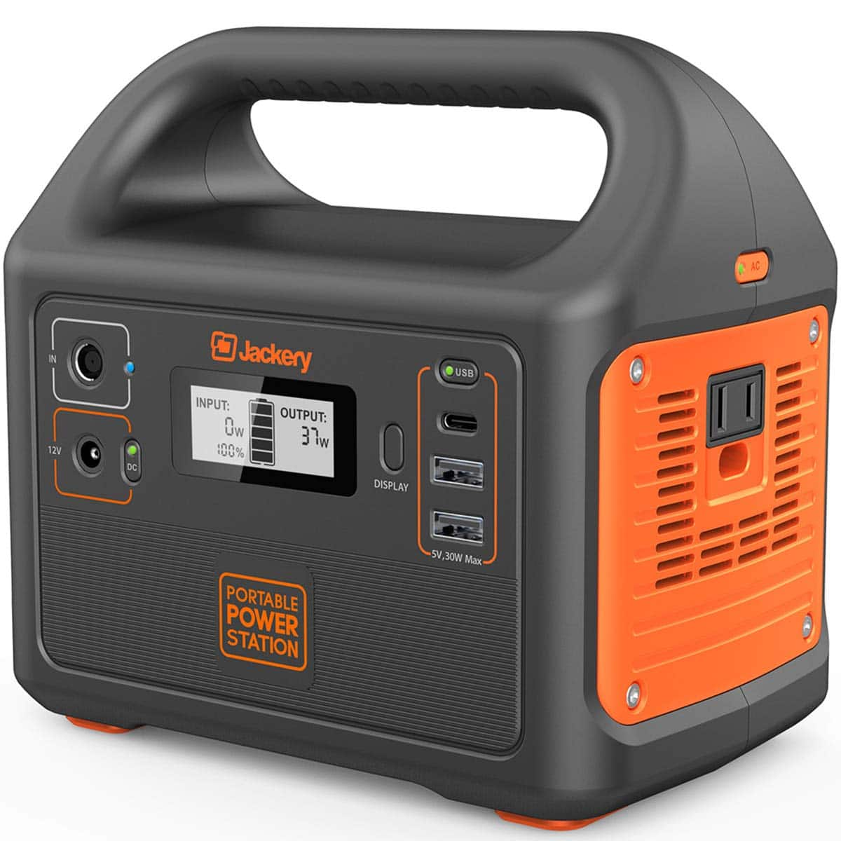 Jackery Portable Power Station Explorer 160 - $109.99 Amazon Lightning Deal - Back Up Power Supply, A/C Outlet, USB C and USB and D/C LOWEST PRICE EVER