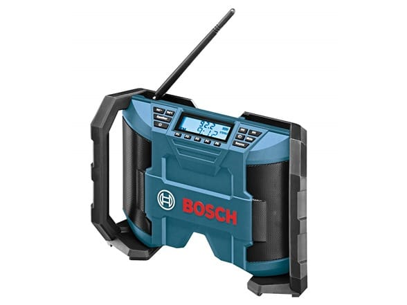 Sellout.Woot.Com Bosch PB120 12-Volt Max Lithium-Ion Compact AM/FM Radio with MP3 Player Connection Bay $29.99