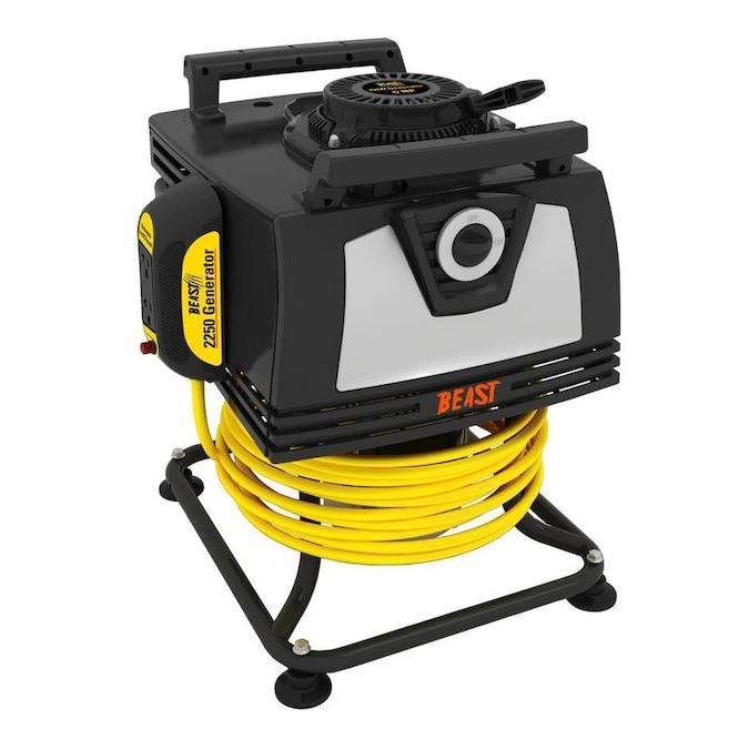 Beast 2250-Watt Gasoline Portable Generator with Dek Engine $199.99 Free Shipping Lowes.com