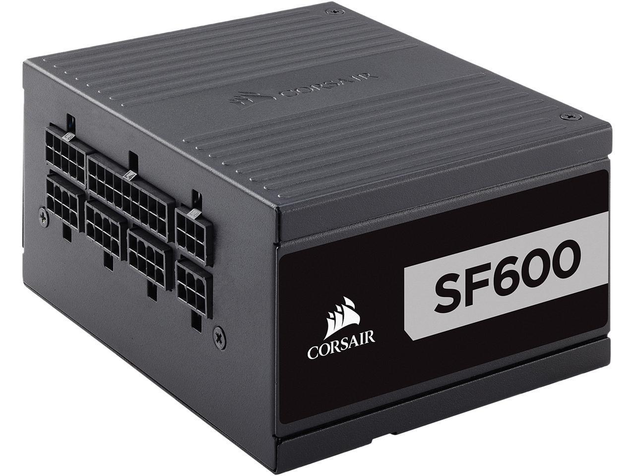 Corsair SF600 600W SFX 80 Plus Platinum Modular PSU $99 AR