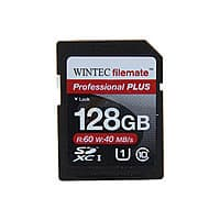 Newegg Deal: Wintec Professional PLUS 128GB Secure Digital Extended Capacity (SDXC) Class 10 UHS-1 Flash Card $36 Shipped @ Newegg
