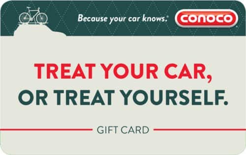 $100 Conoco Gas Gift Card For Only $92! - FREE Mail Delivery