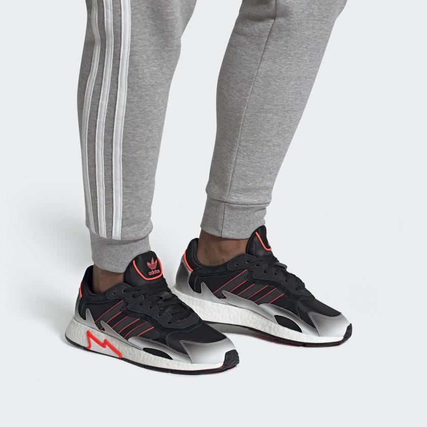 adidas Originals Tresc Run Shoes w/ Boost Mens' (Core Black / Solar Red) $35.24 Free Shipping