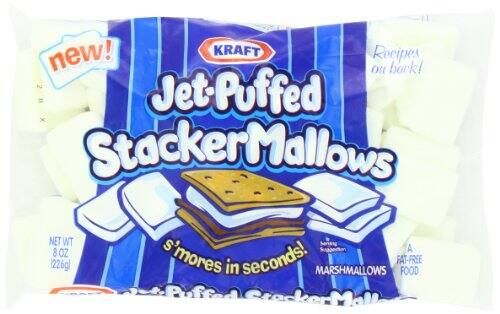 Jet Puffed Stacker Mallows, 8-Ounce (Pack of 8) $5.70 or less w/ S&S
