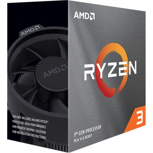 AMD Ryzen 3 3300X Quad-Core AM4 Processor Preorder for $120