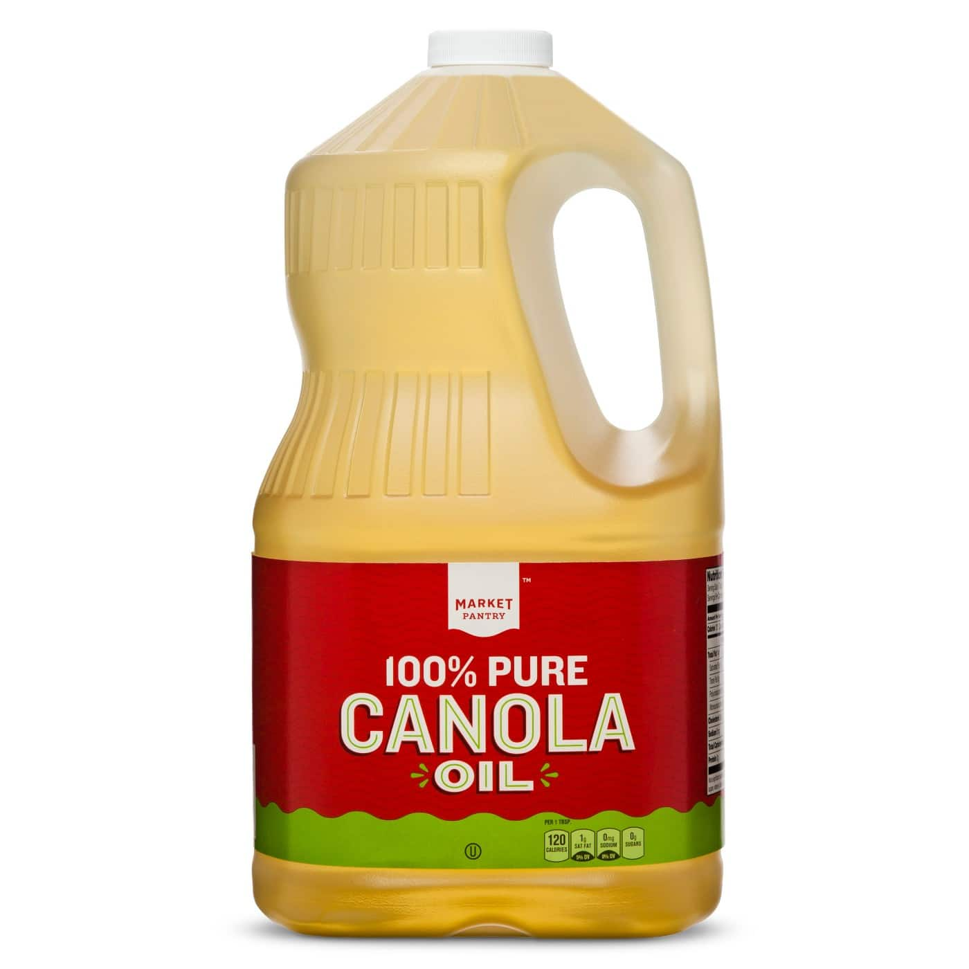 Canola Oil - 1 Gallon 128 oz cooking oil Target in store pick up $4.99
