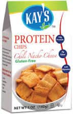 Kay's Naturals Protein Chips, Chili Nacho Cheese, Gluten-Free, Low Carbs, Low Fat 6 pack  $3.3 Amazon s&s