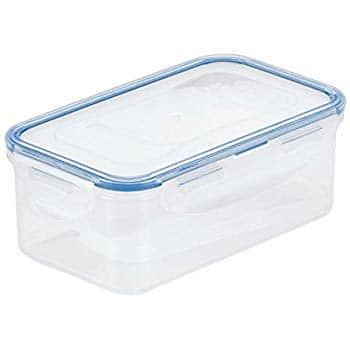LOCK & LOCK Airtight Rectangular Food Storage Container 54.10-oz / 6.76-cup Amazon $4.4