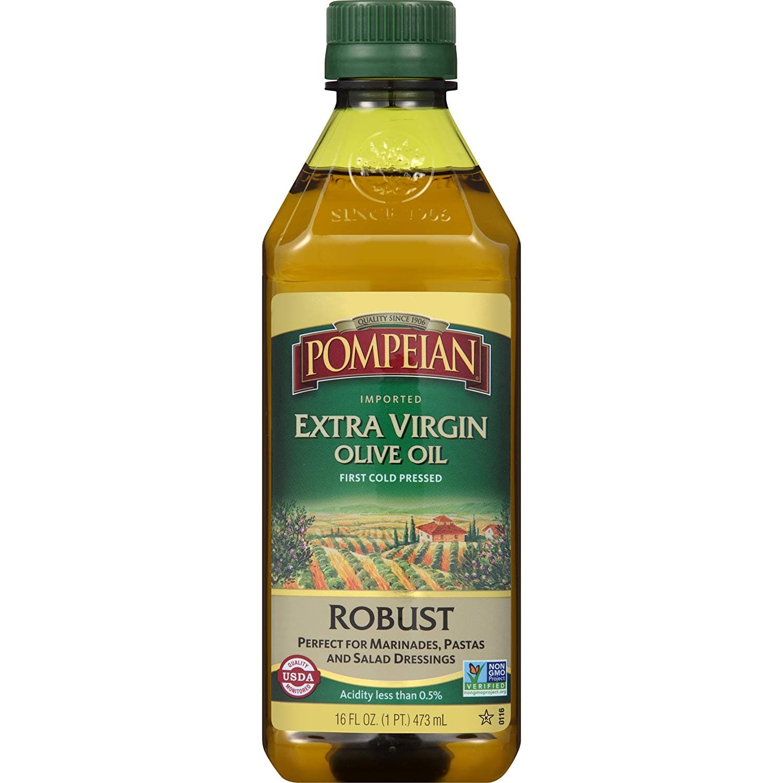 Pompeian Extra Virgin Olive Oil - 16 Ounce $3.9 Amazon s&s