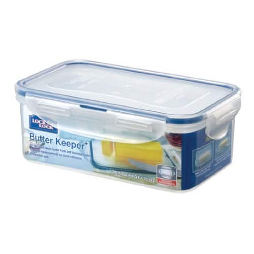 Lock & Lock Airtight Food Storage Container / Butter Case 25 Ounce $3.14 Amazon Walmart