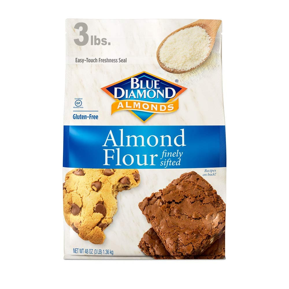 Blue Diamond Almond Flour, Gluten Free, Blanched, Finely Sifted 3 Pound $11 Amazon s&s