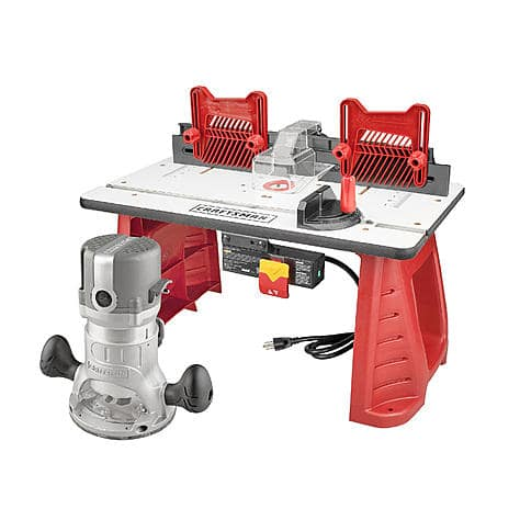 Craftsman Router and Router Table Combo (37595) on sale for $86. Free Ship.