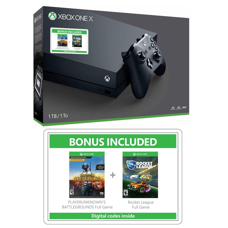 XBox ONE X 1TB Bundle $259.99