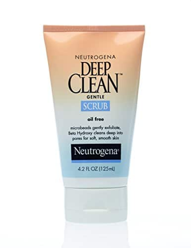 $2.91 Neutrogena Deep Clean Gentle Scrub, 4.2oz - Amazon S&S