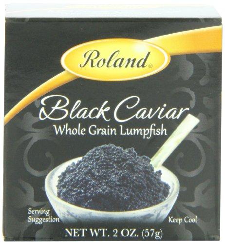 Roland Black Caviar, Whole Grain Lumpfish, 2 Ounce $0.42 - Amazon S&S
