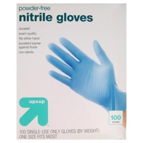 Nitrile Exam Gloves - 100ct - Target Brand - Powder free, one size fits most $7.99 ($25 minimum order)