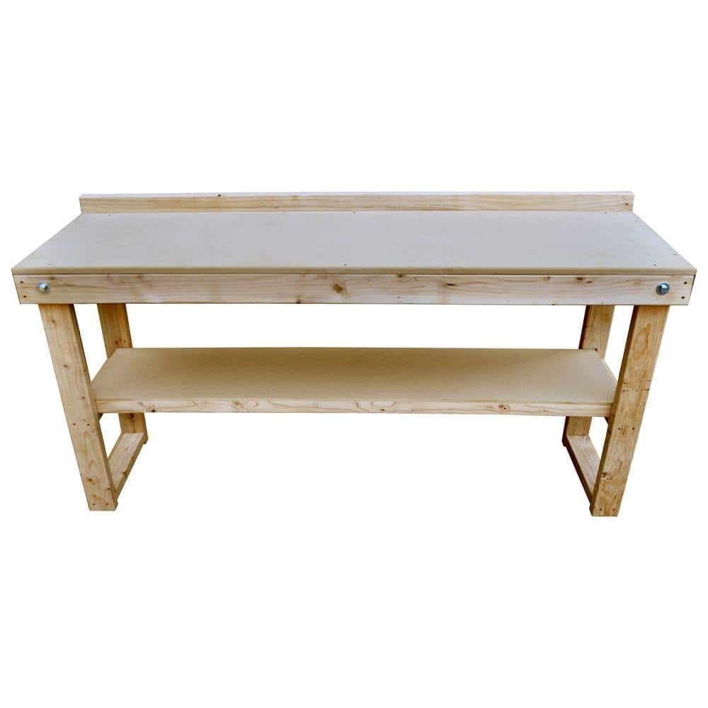 home depot 72 in. Fold-Out Wood Workbench YMMV $24