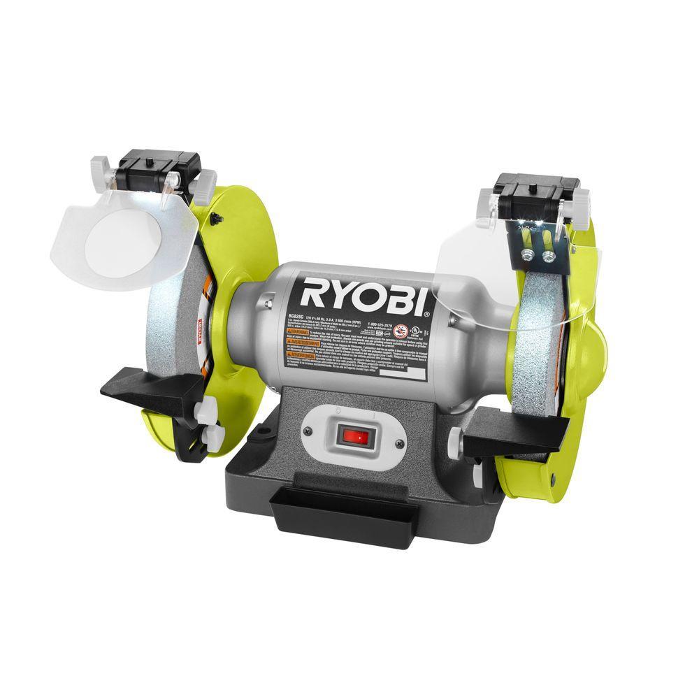 Ryobi 8 in. Bench Grinder 3a YMMV $39.94