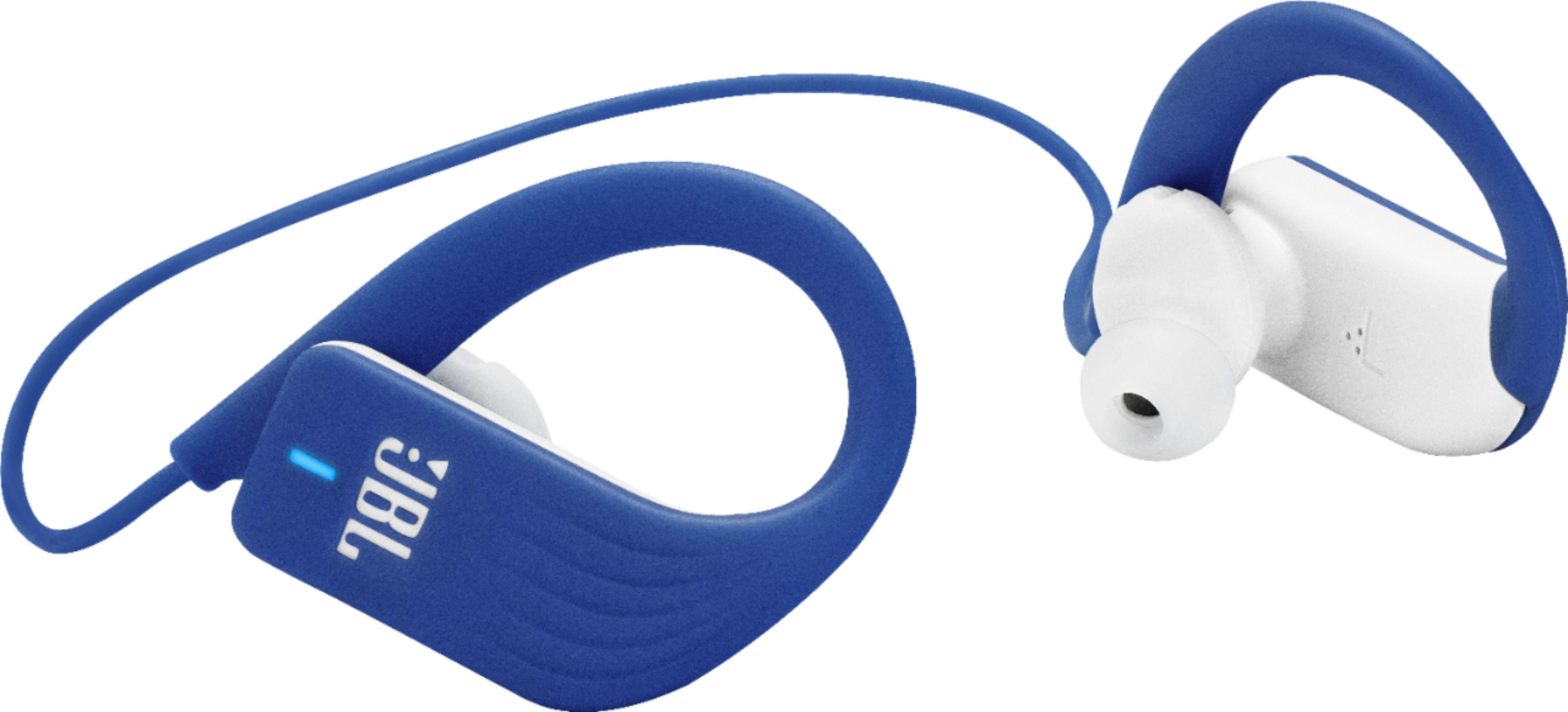 JBL - Endurance Sprint Wireless In-Ear Headphones - Blue $18 $17.99