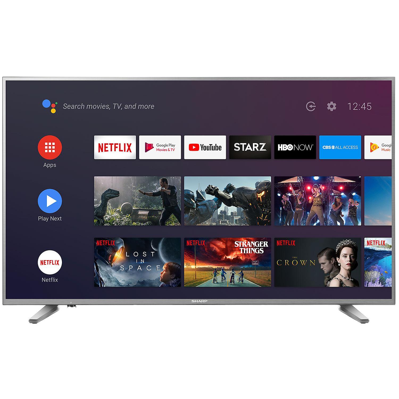 "Sharp 58"" Class 4K HDR Smart TV - LC-58Q620U $349"