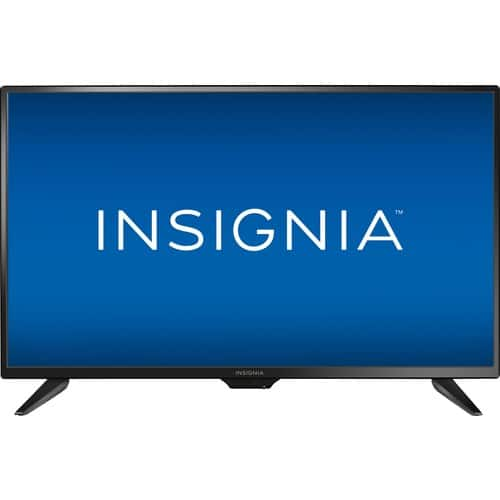 """Insignia 32"""" LED - 720p - HDTV and Insignia 32"""" LED - 720p - Smart - Roku TV From $99 + FS"""