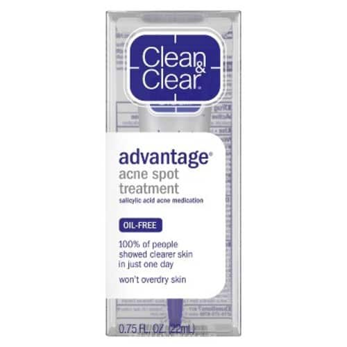 Clean & Clear Advantage Acne Spot Treatment (2% salicylic acid) .75 Oz. - $3.98