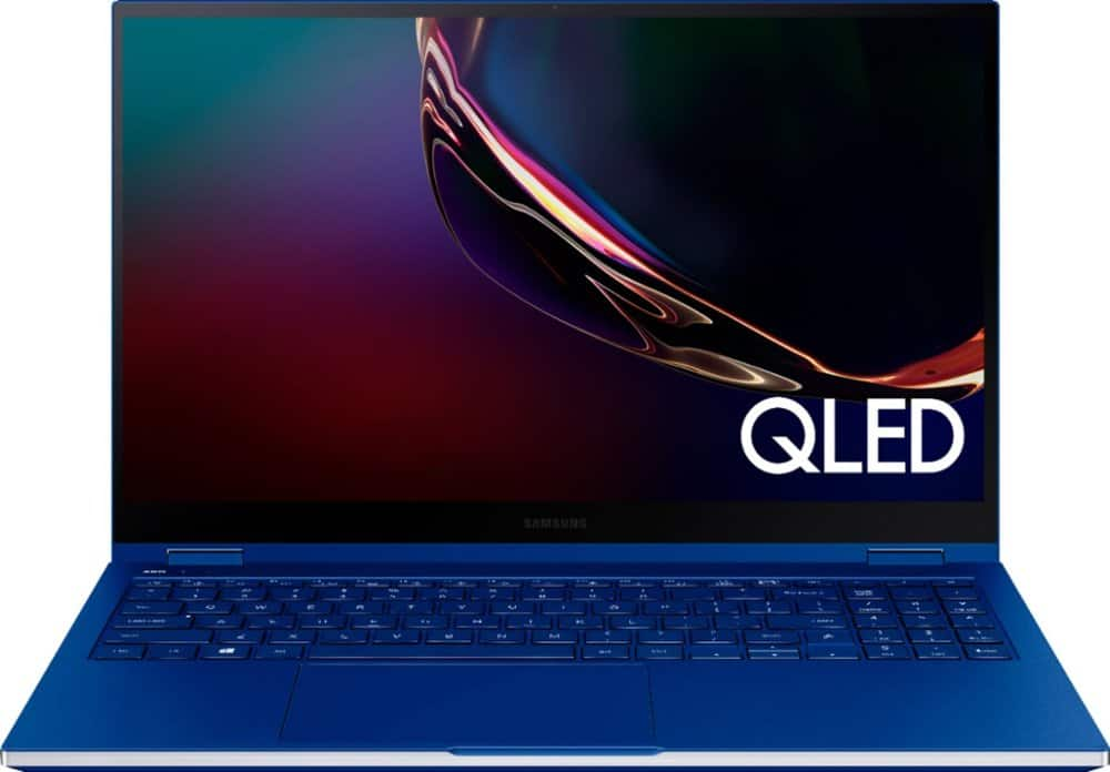 "Samsung Galaxy Book Flex Touchscreen Windows Tablet to Laptop 15.6"" (512GB SSD) - Intel i7 - 12GB RAM - Students & Educators $1104.99 + $50 eCert"
