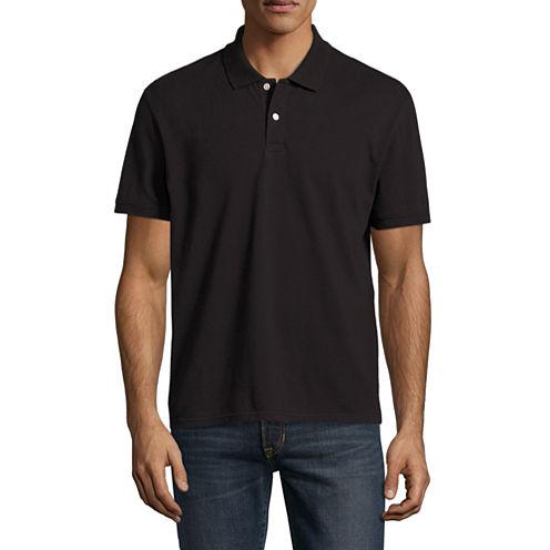City Streets Short Sleeve Pique Polo Shirt $5.95