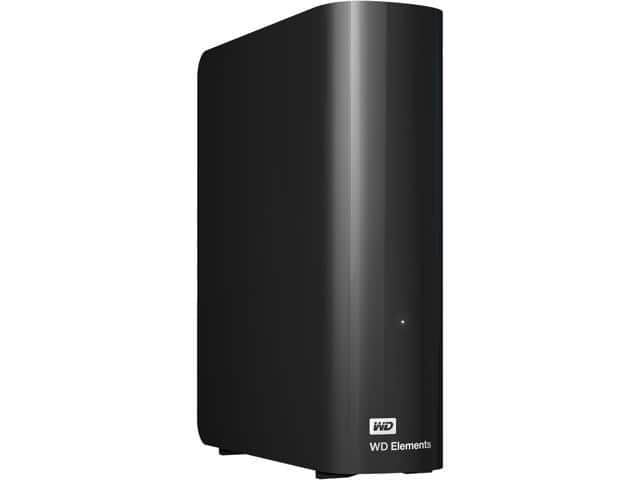 $149.99 WD Elements 8TB Desktop External Hard Drive, USB 3.0, WDBWLG0080HBK-NESN Black