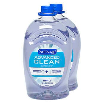 Softsoap Advanced Clean Hand Soap 80 fl. oz., 2-pack $9.99