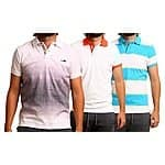 Micros Men's Cotton Polo Shirts-$12.97
