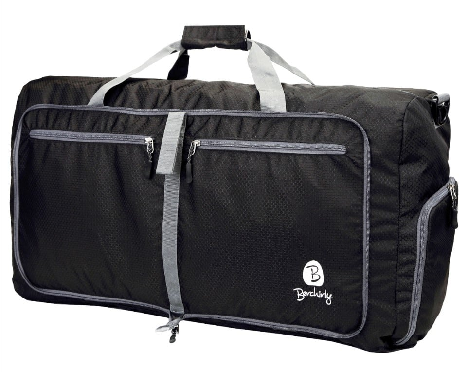 """Oversize 27"""" 80L Travel Bag Large Lightweight Duffel Bag Packable Storage Luggage 60% OFF @$11.59+FS @Amazon"""