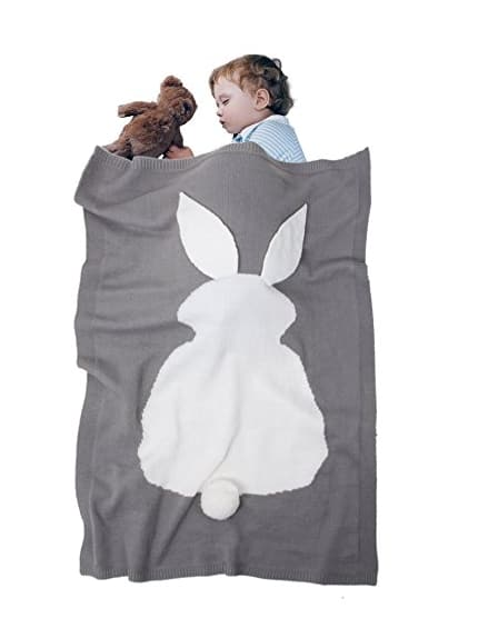Kids Blanket, Amyhomie Rabbit Blanket,Baby Kids Cute Blanket Wrap Swaddle,Lovely Rabbit Toddler Blankets 50% OFF @$7.99+FS @Amazon