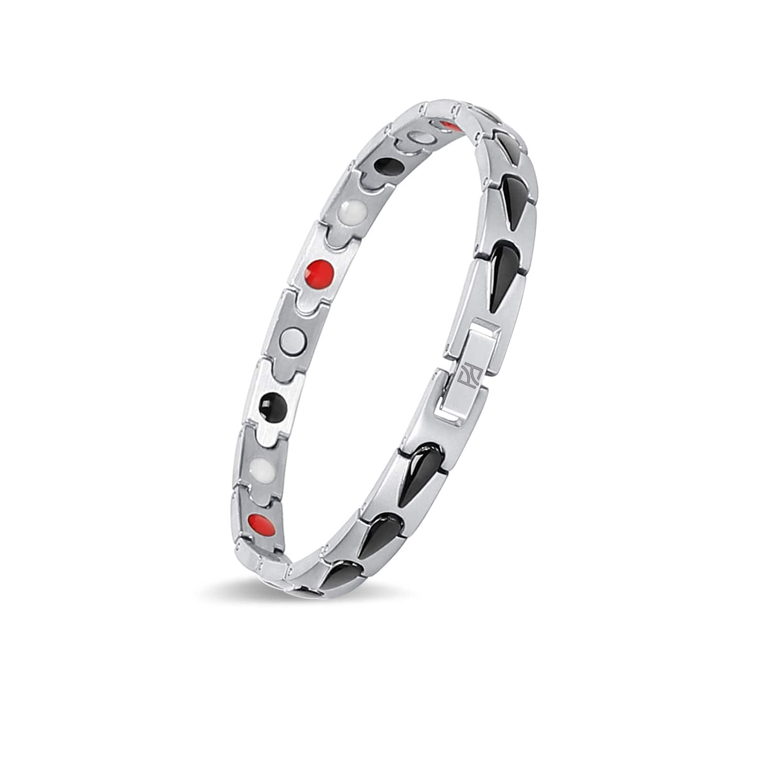 Fashion Titanium Magnetic Therapy Bracelet Pain Relief for Arthritis and Carpal Tunnel Girl for Elegant Women 80% OFF @$7.99+FS