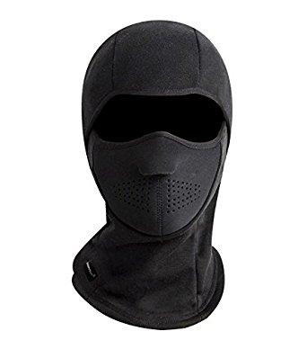 Zerdocean Winter Windproof Fleece Thermal Full Face Motorcycle Ski Mask Balaclava 40% OFF @$7.8 + FS