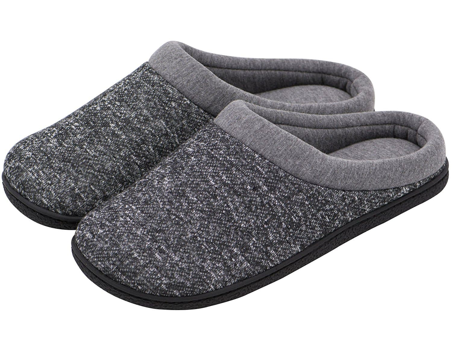 e4ca88ab0650f Men's Comfort Winter Warm Slip On Memory Foam House Slippers Shoes Indoor/ Outdoor 20% OFF@$14.39+FS @Amazon