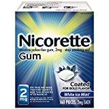 Nicorette Nicotine Gum Cinnamon Surge 4mg Stop Smoking Aid 160 count - $30 ($25.50 S&S) @ Amazon.com