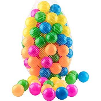 Ball Pit 100 Pack of Crush Proof BPA Free Balls - $13.99 at Amazon.com