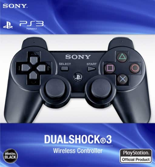 DualShock 3 for Sony PS3 (Black) - $29.99 + Free 2-Day Shipping