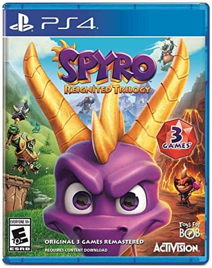 Spyro Reignited Trilogy - PS4, XBOX ONE- $20