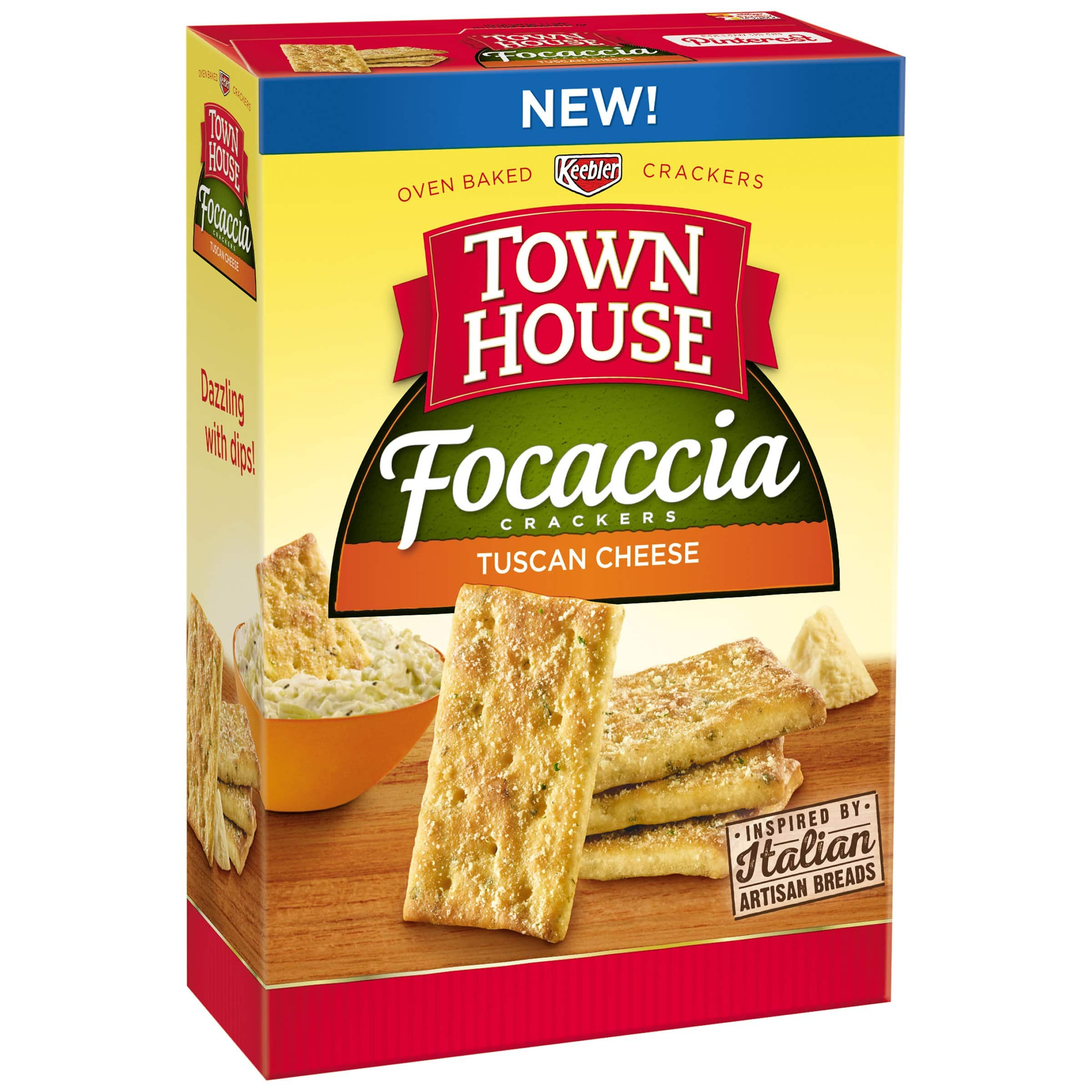 Town House Focaccia Rosemary and Olive Oil, 9 Ounce  1.7 s&s $1.7